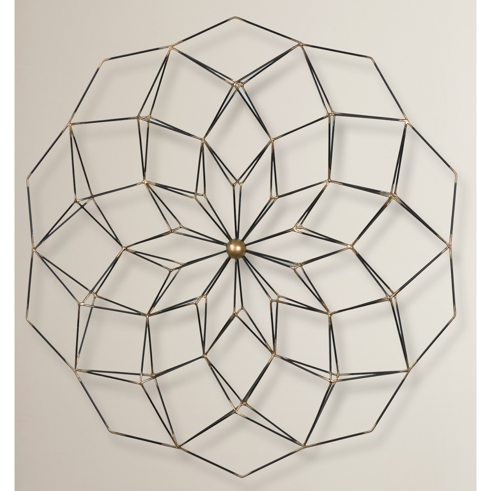 Best ideas about Geometric Wall Art . Save or Pin Brayden Studio Geometric Floral Framed Wall Art & Reviews Now.