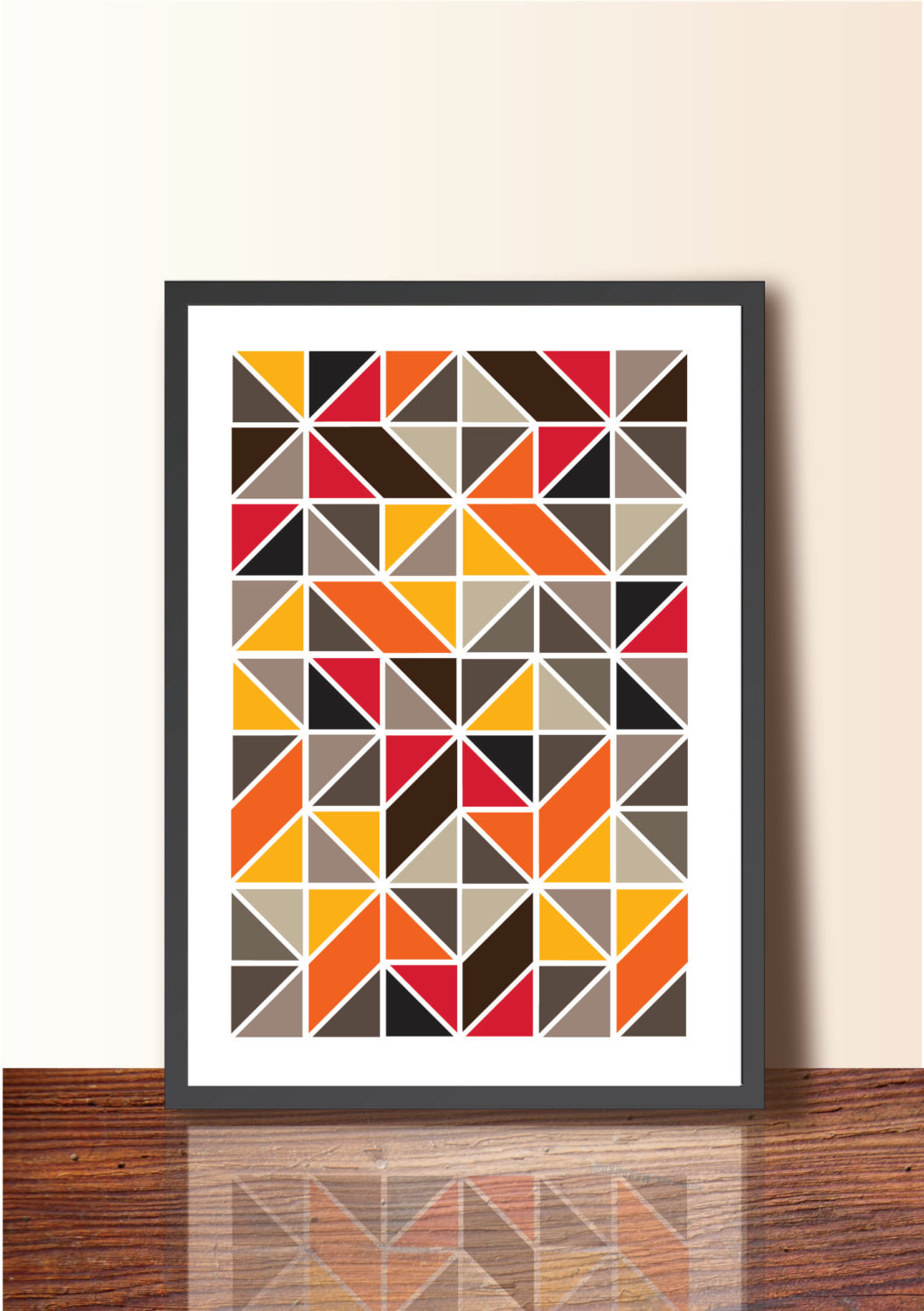 Best ideas about Geometric Wall Art . Save or Pin Geometric print Geometric Poster Print A3 size Wall Art Now.