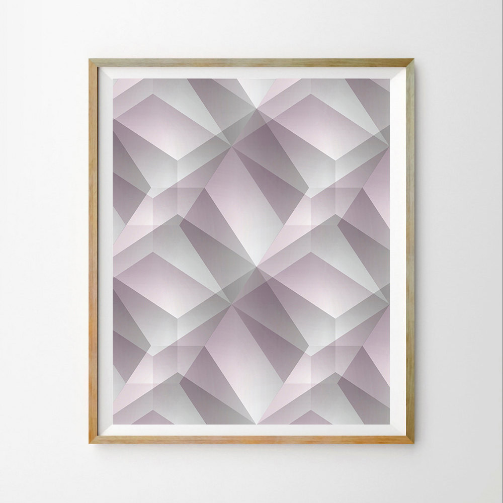 Best ideas about Geometric Wall Art . Save or Pin Geometric wall art print Scandinavian wall art print Now.