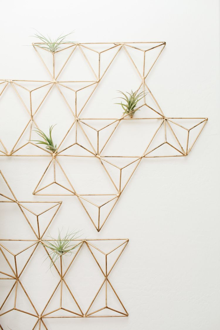 Best ideas about Geometric Wall Art . Save or Pin BEFORE & AFTER LIVING ROOM REVEAL Now.