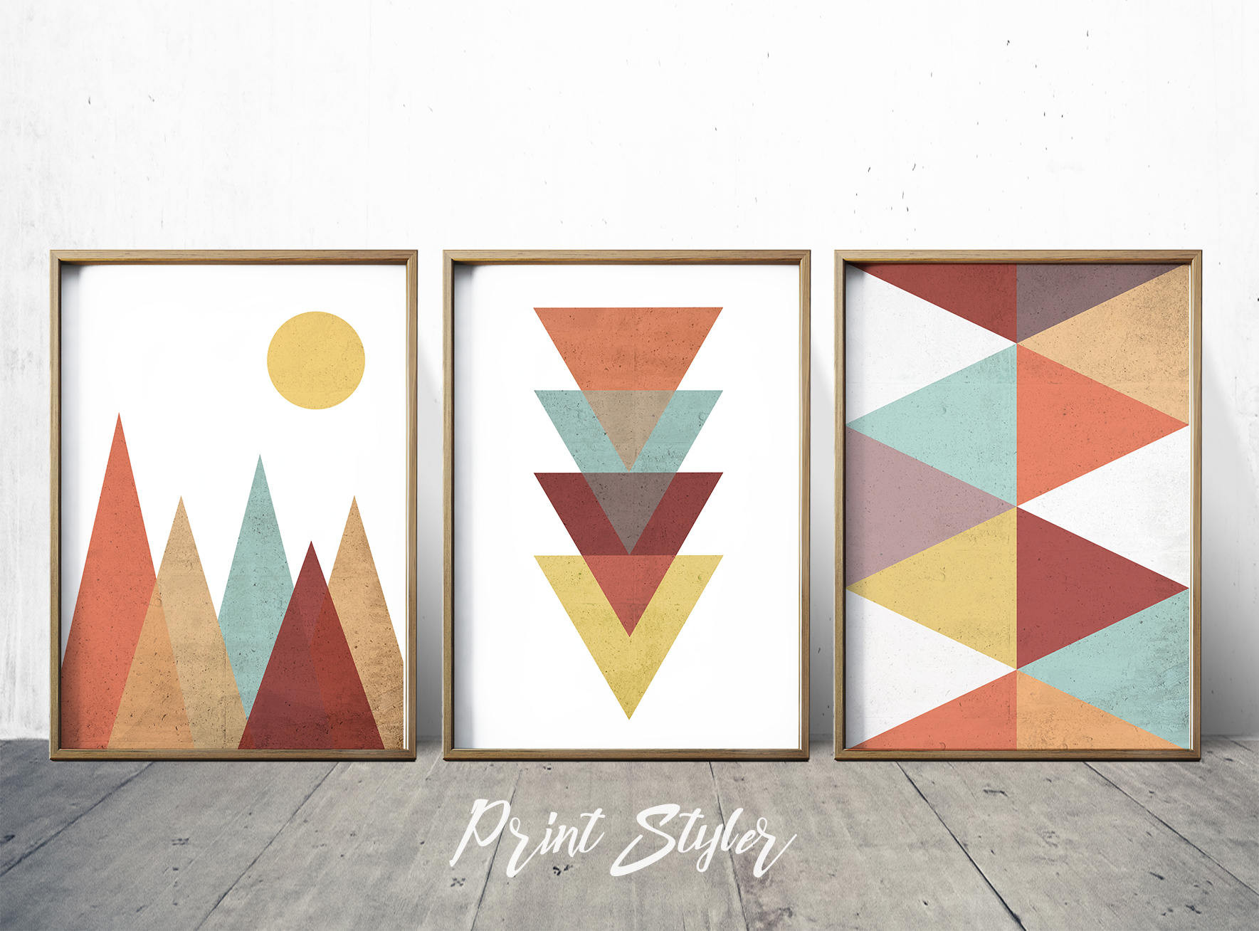 Best ideas about Geometric Wall Art . Save or Pin Geometric Art Prints Geometric Wall Art Geometric Art Nordic Now.