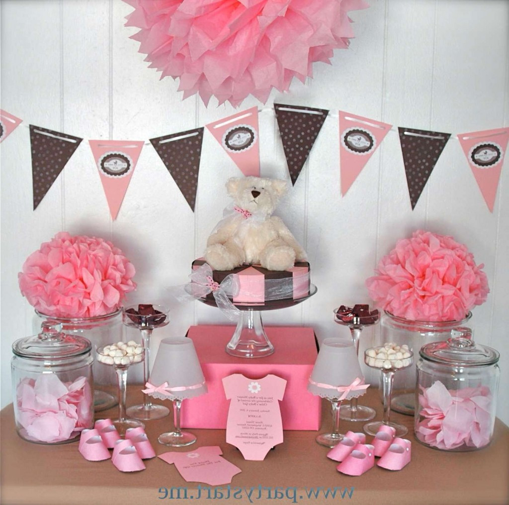 Best ideas about Girl Baby Shower Table Decorations . Save or Pin Baby Shower Centerpiece Ideas Baby Shower Decoration Ideas Now.