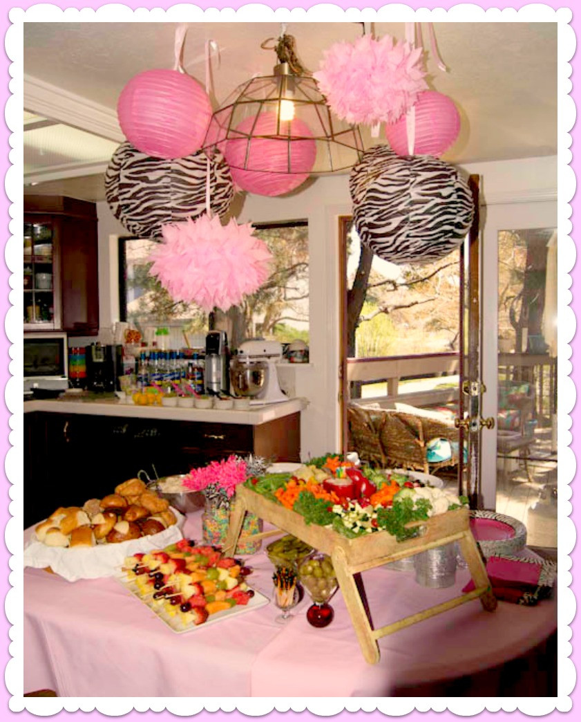 Best ideas about Girl Baby Shower Table Decorations . Save or Pin Adorned From Girl Baby Shower Now.