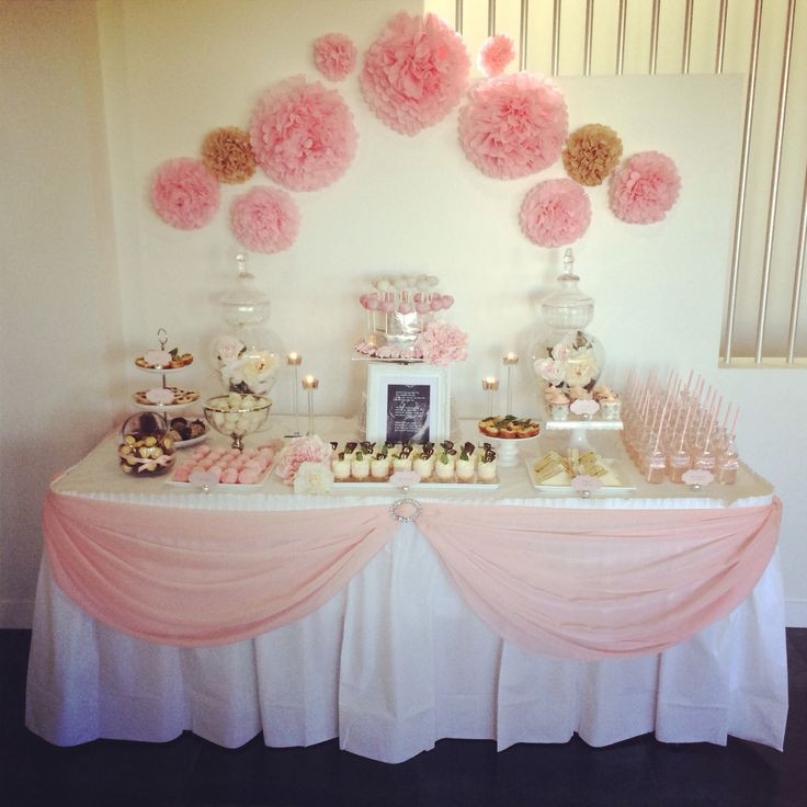 Best ideas about Girl Baby Shower Table Decorations . Save or Pin Best 25 Baby shower table ideas on Pinterest Now.