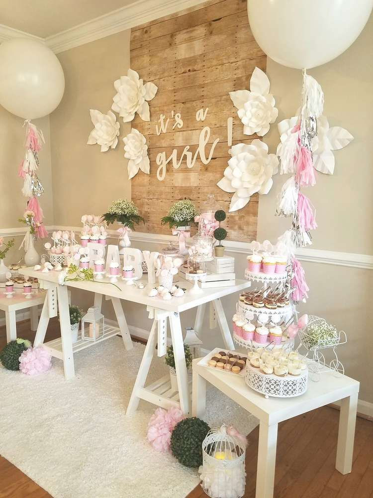 Best ideas about Girl Baby Shower Table Decorations . Save or Pin Baby Shower Party Ideas in 2019 Now.