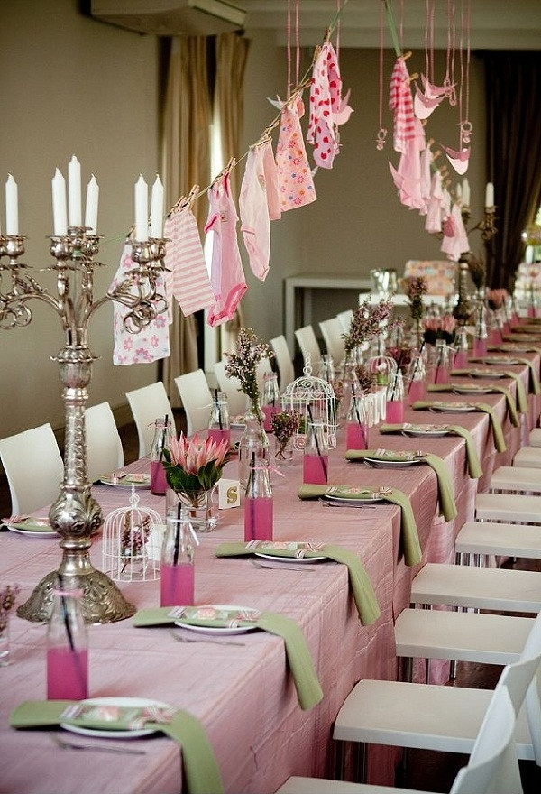 Best ideas about Girl Baby Shower Table Decorations . Save or Pin Baby shower ideas – theme and decoration tips Now.