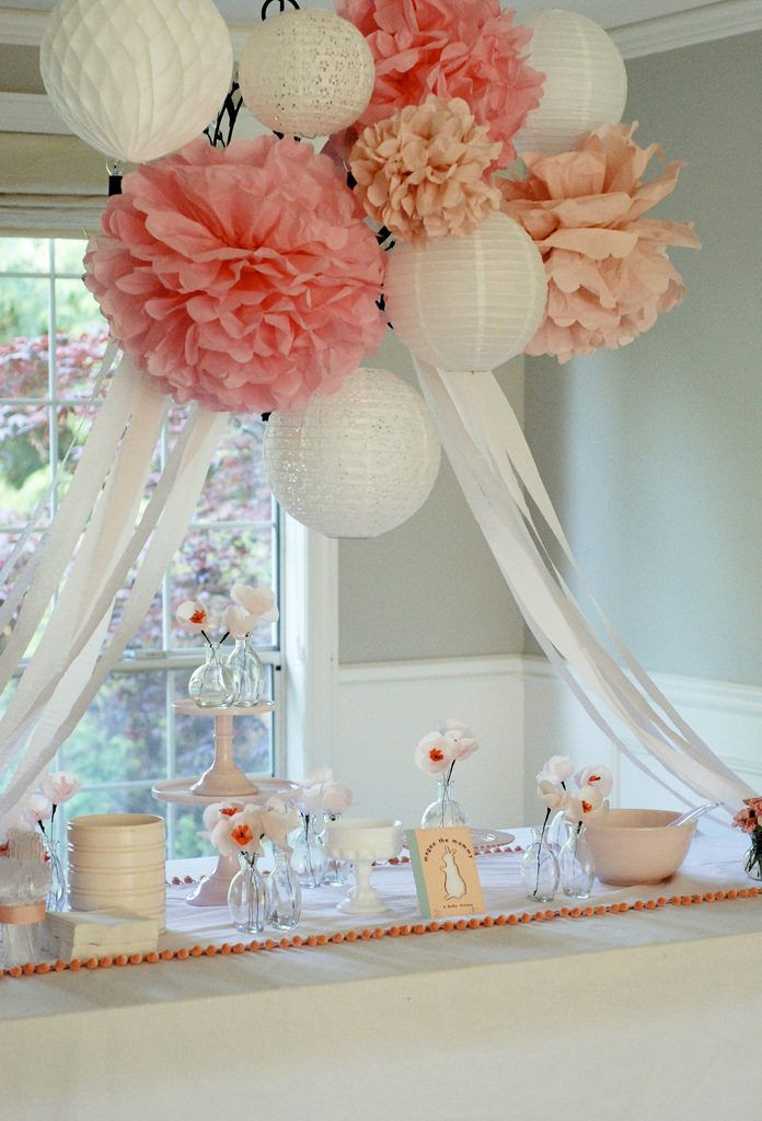 Best ideas about Girl Baby Shower Table Decorations . Save or Pin 25 best ideas about Baby shower centerpieces on Pinterest Now.