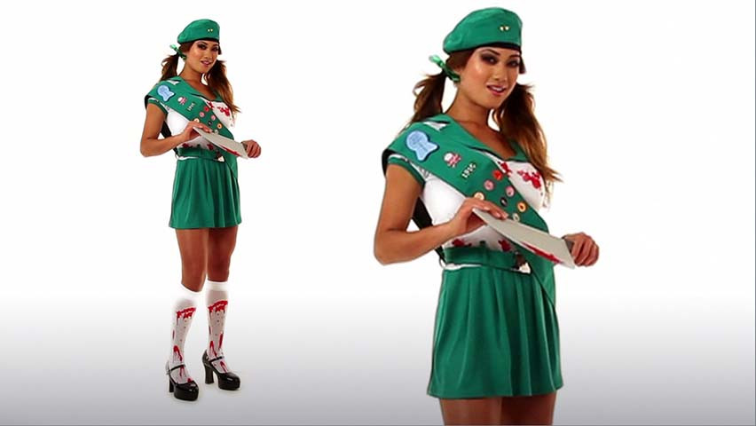 Best ideas about Girl Scout Costume DIY . Save or Pin Best Zombie Costume Ideas For Halloween 2015 Now.