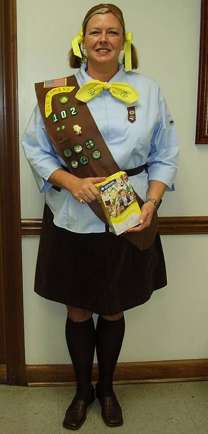 Best ideas about Girl Scout Costume DIY . Save or Pin Pinterest Now.