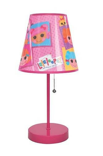 """Best ideas about Girls Desk Lamp . Save or Pin New 16"""" Pink Lalaloopsy Table Lamp Girls Kids Bedroom Now."""