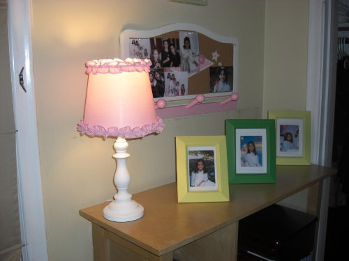 Best ideas about Girls Desk Lamp . Save or Pin Princess Girls Table or Desk Lamp with Pink Ruffle Shade Now.