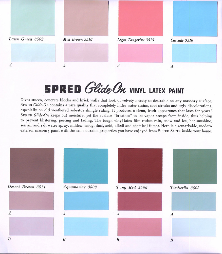 Best ideas about Glidden Paint Colors . Save or Pin The Sunshine Grove 1950s Glidden Exterior Paint Now.