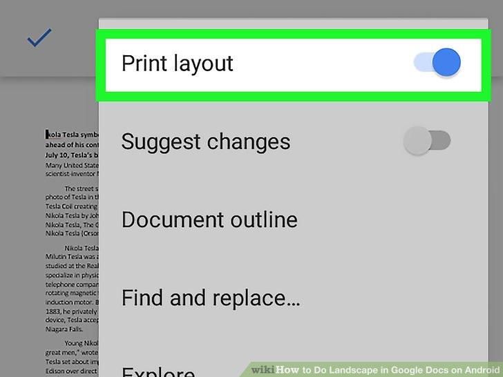 Best ideas about Google Docs Landscape . Save or Pin Easy Ways to Do Landscape in Google Docs on Android 9 Steps Now.