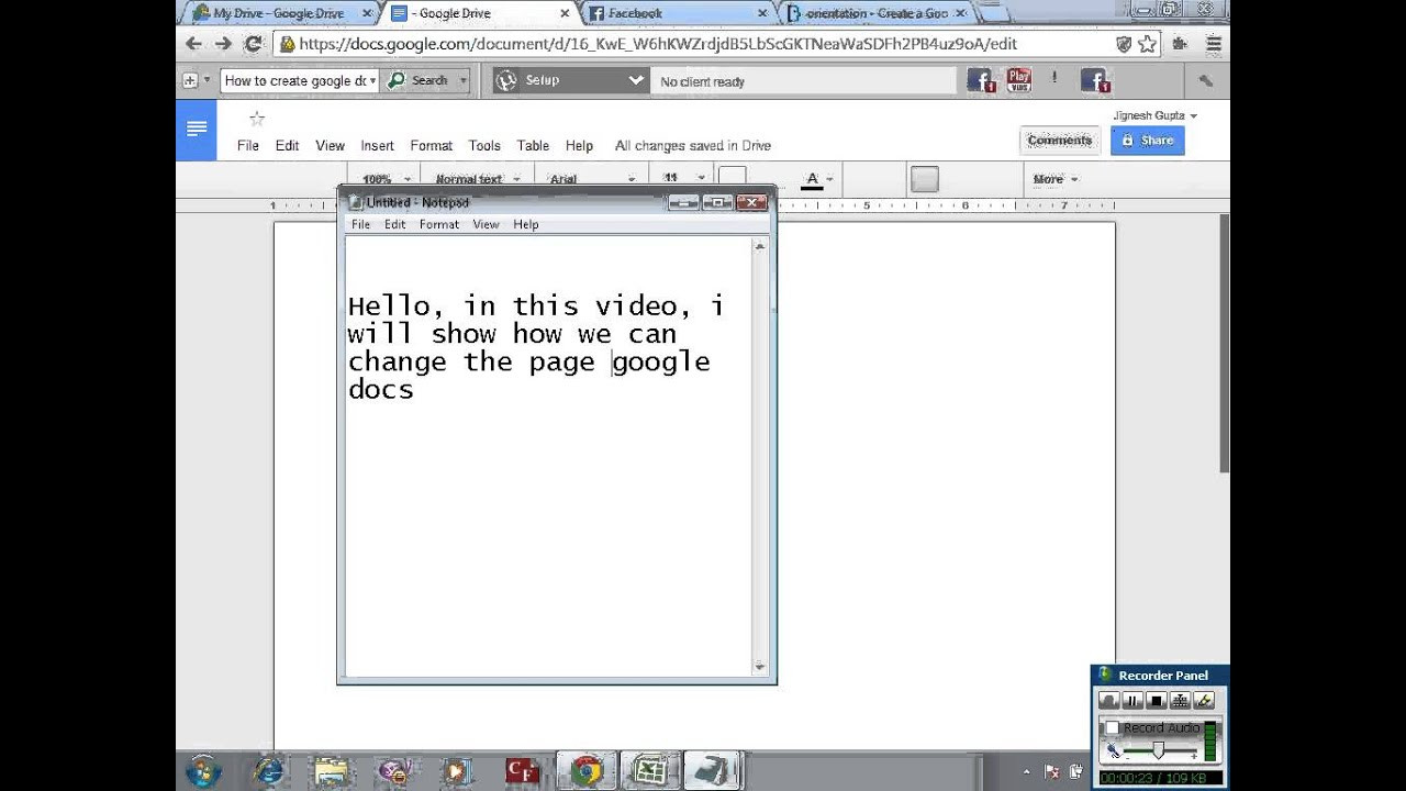 Best ideas about Google Docs Landscape . Save or Pin Create Google docs in landscape mode Now.