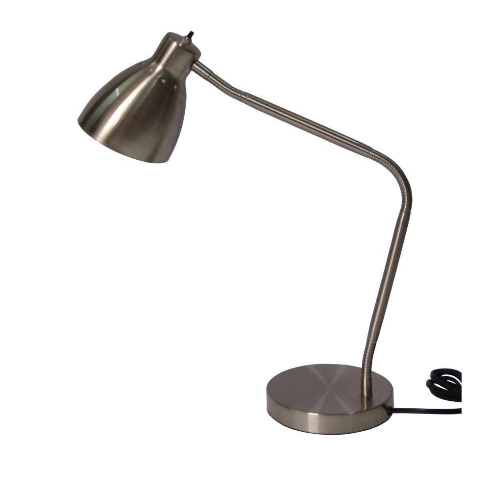 Best ideas about Gooseneck Desk Lamp . Save or Pin Adesso 27 5 in Satin Steel Gooseneck Desk Lamp AF Now.