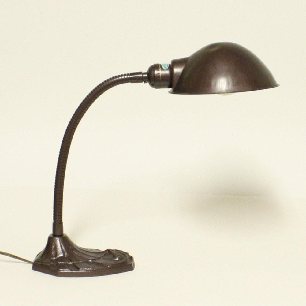 Best ideas about Gooseneck Desk Lamp . Save or Pin Vintage desk lamp gooseneck Faries Mfg Co task light Now.