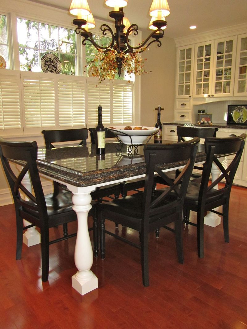 Best ideas about Granite Dining Table . Save or Pin Best 25 Granite table top ideas on Pinterest Now.