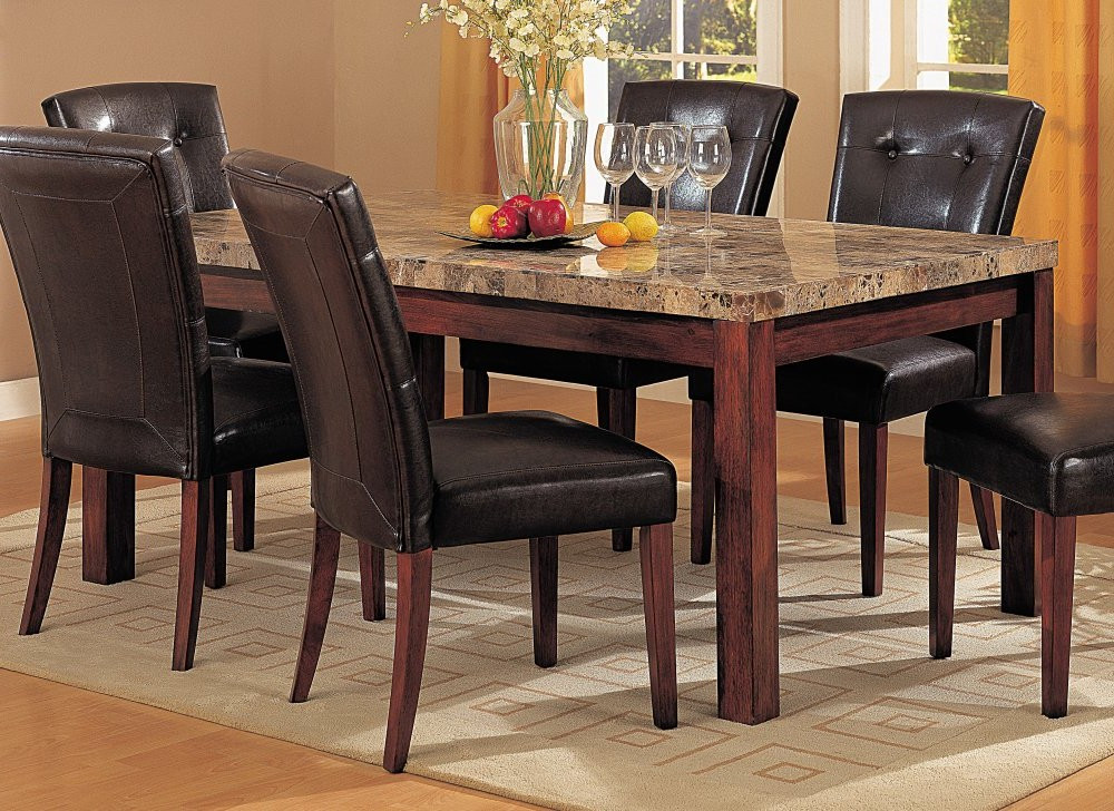 Best ideas about Granite Dining Table . Save or Pin Granite dining table sets granite dining room table and Now.