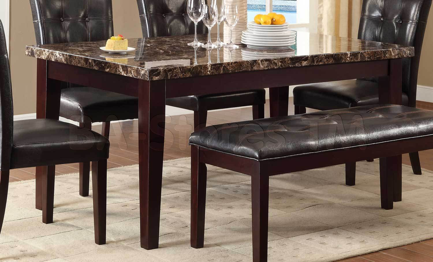 Best ideas about Granite Dining Table . Save or Pin Granite Dining Tables Table For Sale Faux Marble Top Now.