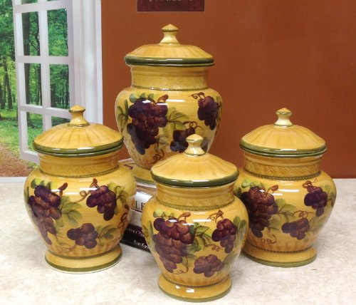 Best ideas about Grape Kitchen Decor . Save or Pin Tuscany Grapes Kitchen Decor Now.