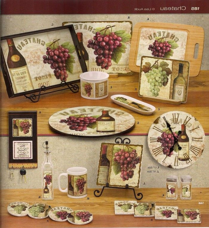 Best ideas about Grape Kitchen Decor . Save or Pin 17 Best images about Grape Grapevine Kitchen on Pinterest Now.