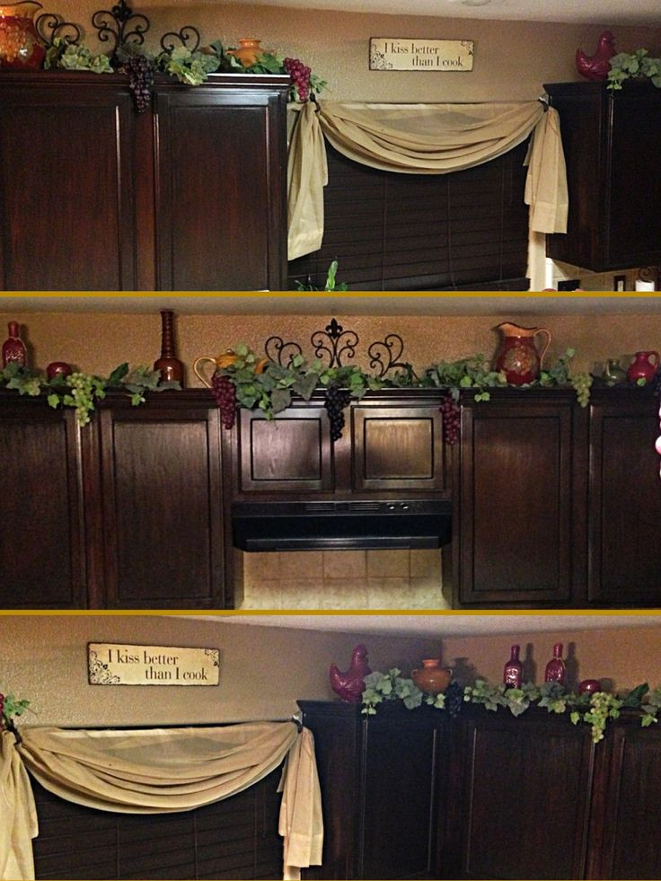 Best ideas about Grape Kitchen Decor . Save or Pin Best 25 Kitchen wine decor ideas on Pinterest Now.