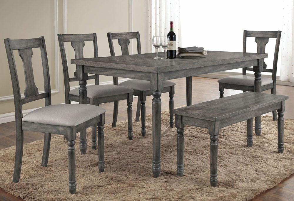 Best ideas about Gray Dining Table . Save or Pin Grey Dining Table Set Now.