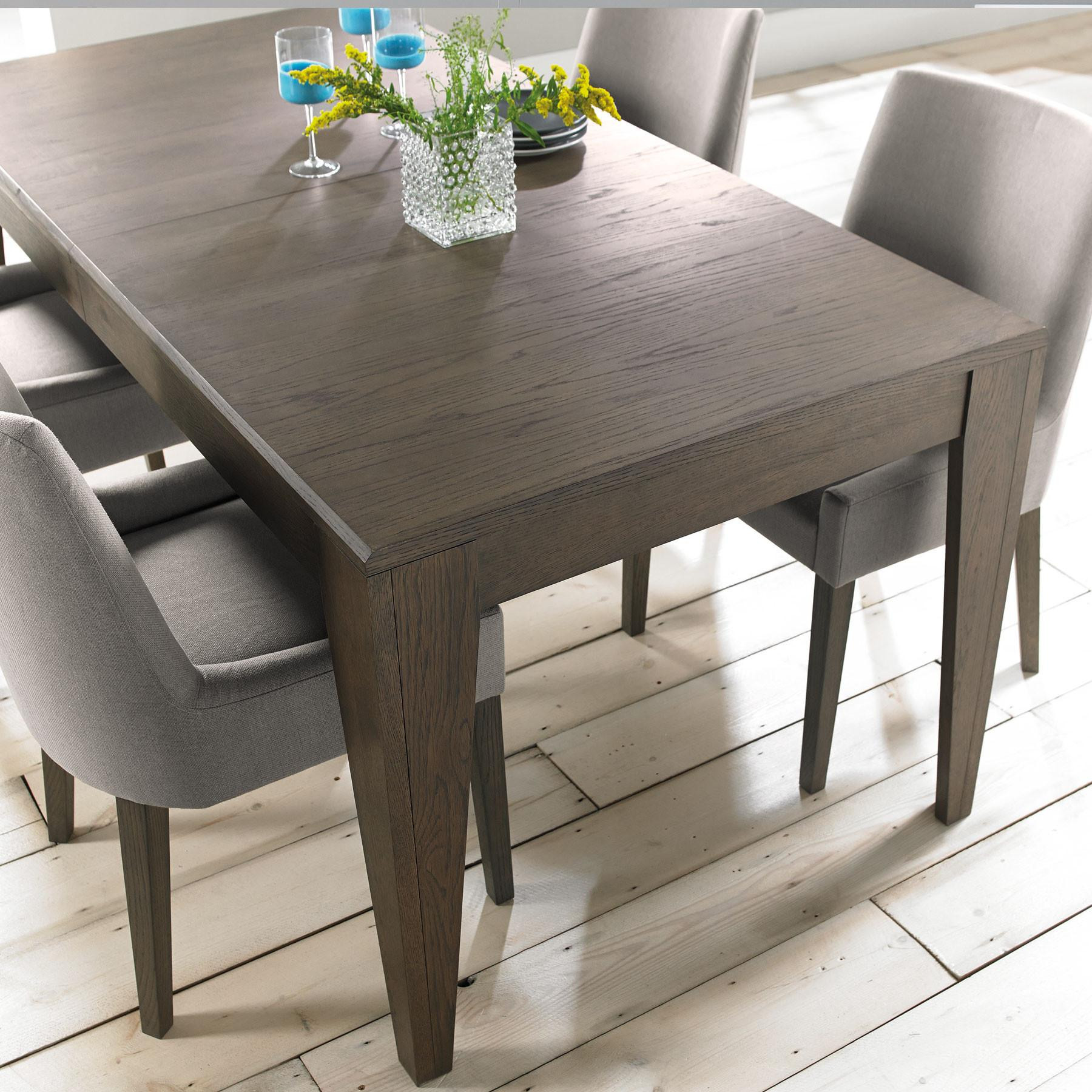 Best ideas about Gray Dining Table . Save or Pin Firenze Weathered Oak and Soft Grey 220cm Extending Dining Now.