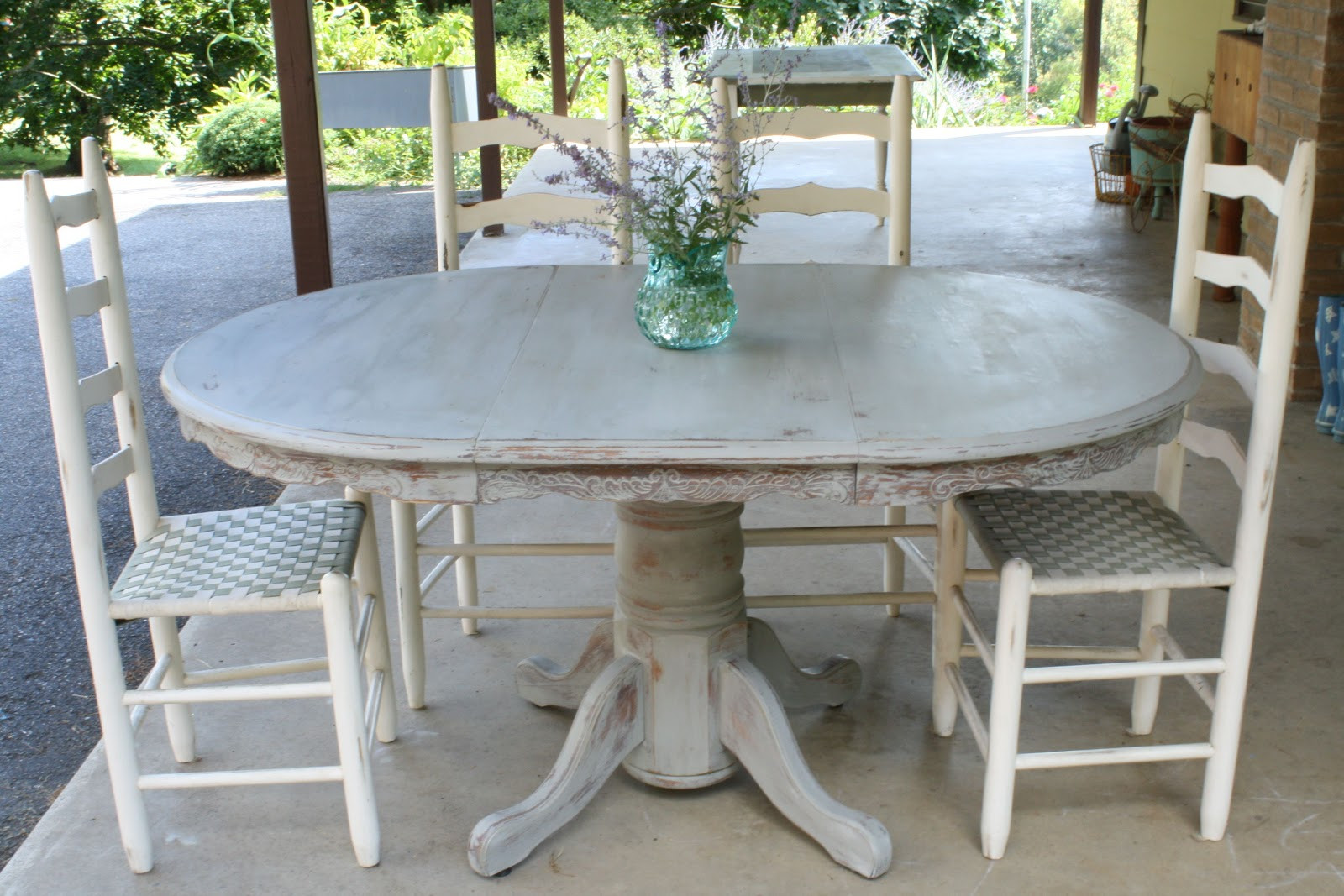 Best ideas about Gray Dining Table . Save or Pin Weathered Paris Gray Dining Table Cassie Bustamante Now.