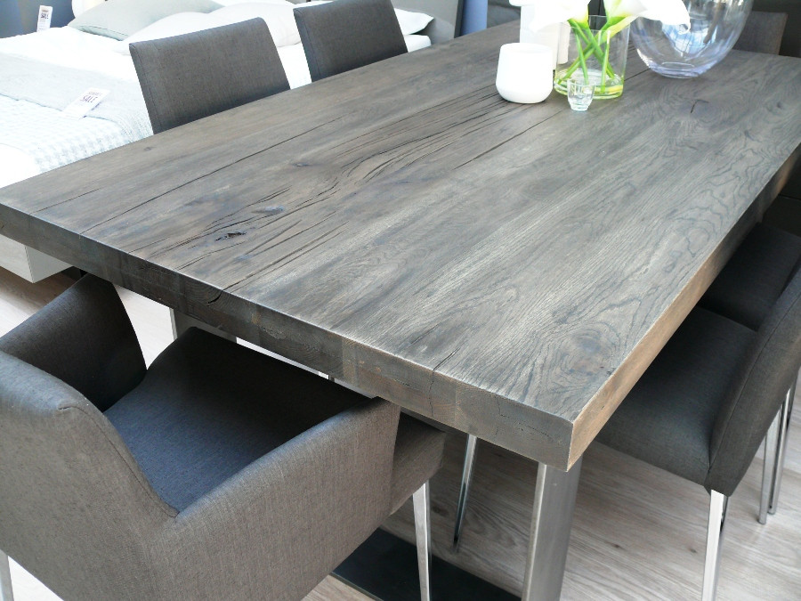 Best ideas about Gray Dining Table . Save or Pin Dining Table Grey Wash Dining Table Now.