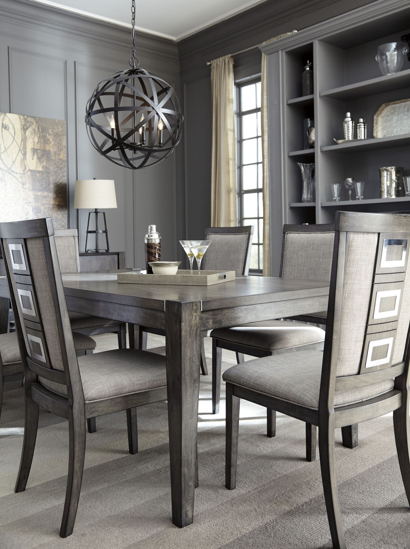 Best ideas about Gray Dining Table . Save or Pin Chadoni Gray Rectangular Extendable Dining Table from Now.
