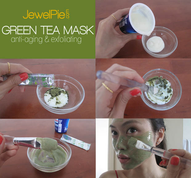 Best ideas about Green Tea Face Mask DIY . Save or Pin DIY Green Tea Mask Exfoliating & Anti aging – JewelPie Now.