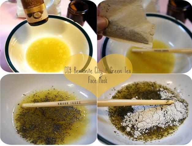 Best ideas about Green Tea Face Mask DIY . Save or Pin Yolanda G ♥ DIY Bentonite Clay Green Tea & Argan Oil Now.