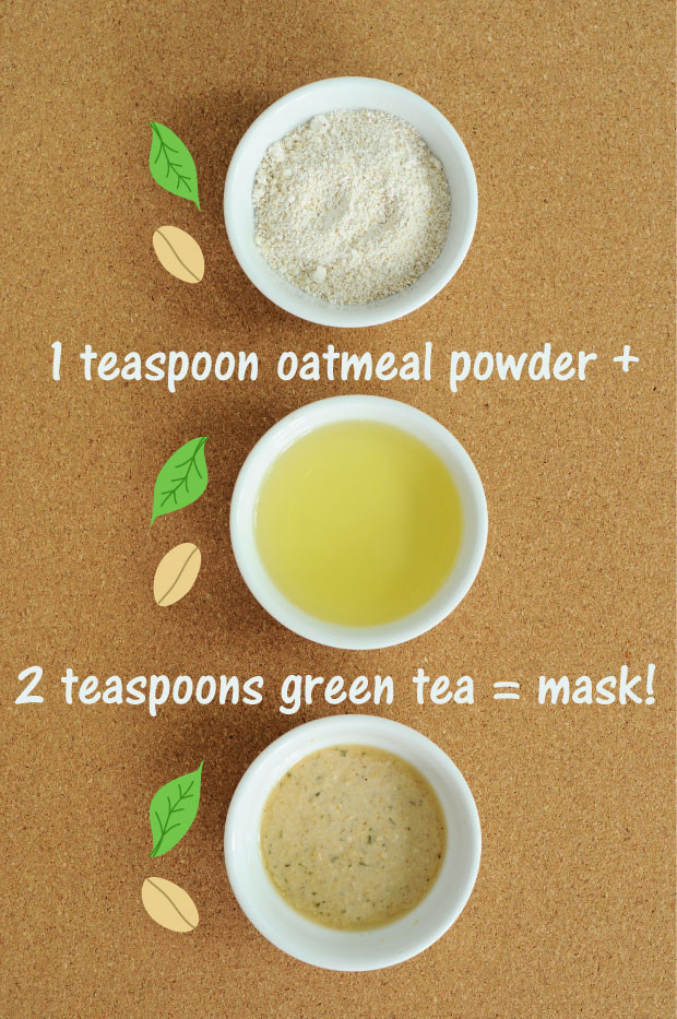 Best ideas about Green Tea Face Mask DIY . Save or Pin The Fix Everything Oatmeal & Green Tea Mask ly 2 Now.