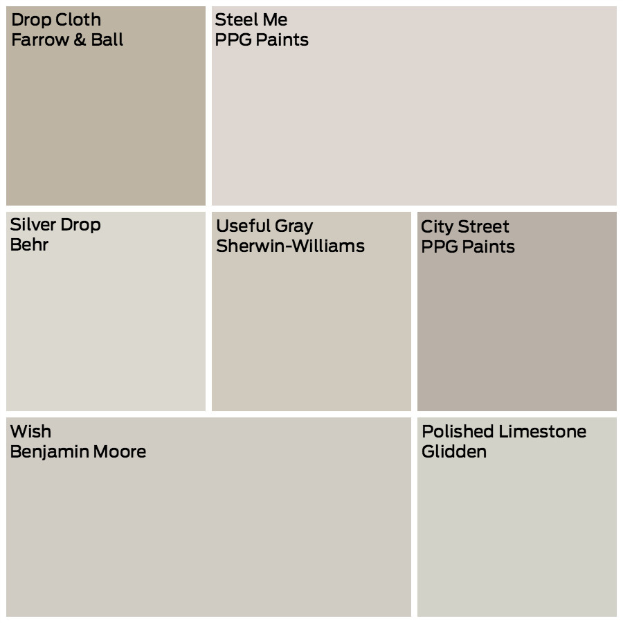 Best ideas about Greige Paint Colors . Save or Pin 7 No Fail Greige Paints Now.