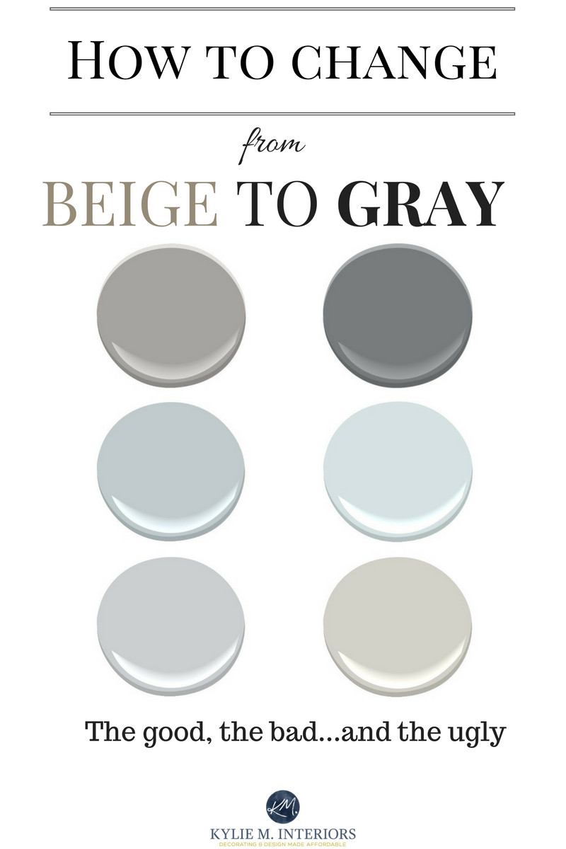 Best ideas about Greige Paint Colors . Save or Pin How to change from beige to gray or greige paint colours Now.