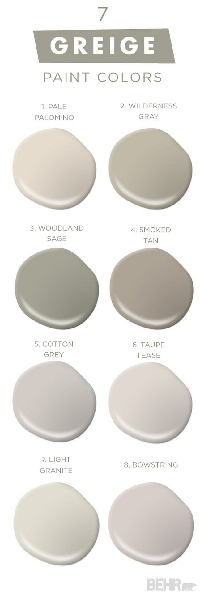 Best ideas about Greige Paint Colors . Save or Pin Interior Design Ideas Home Bunch Interior Design Ideas Now.