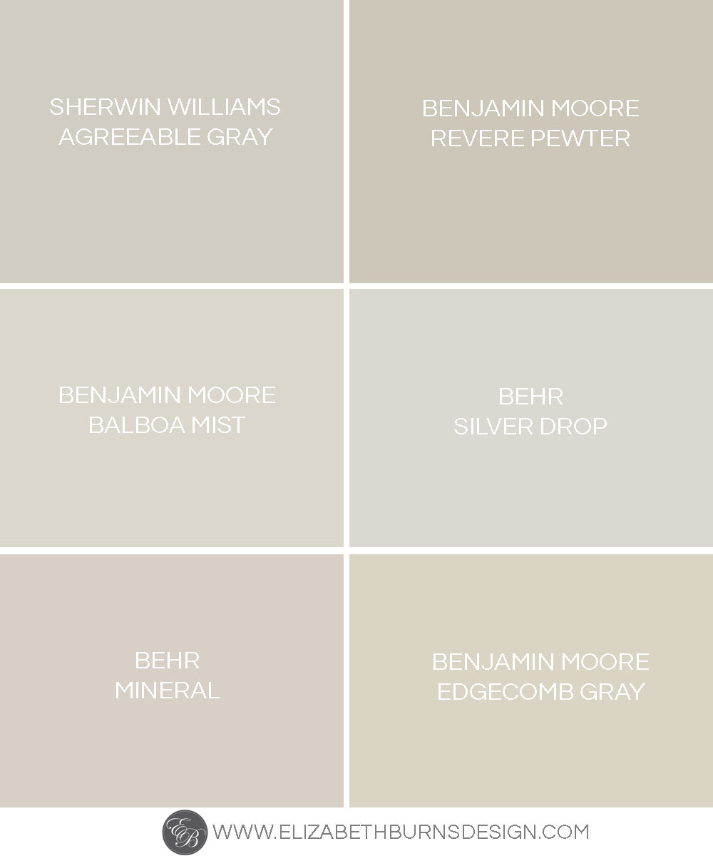 Best ideas about Greige Paint Colors . Save or Pin The Perfect Shades of Greige Now.