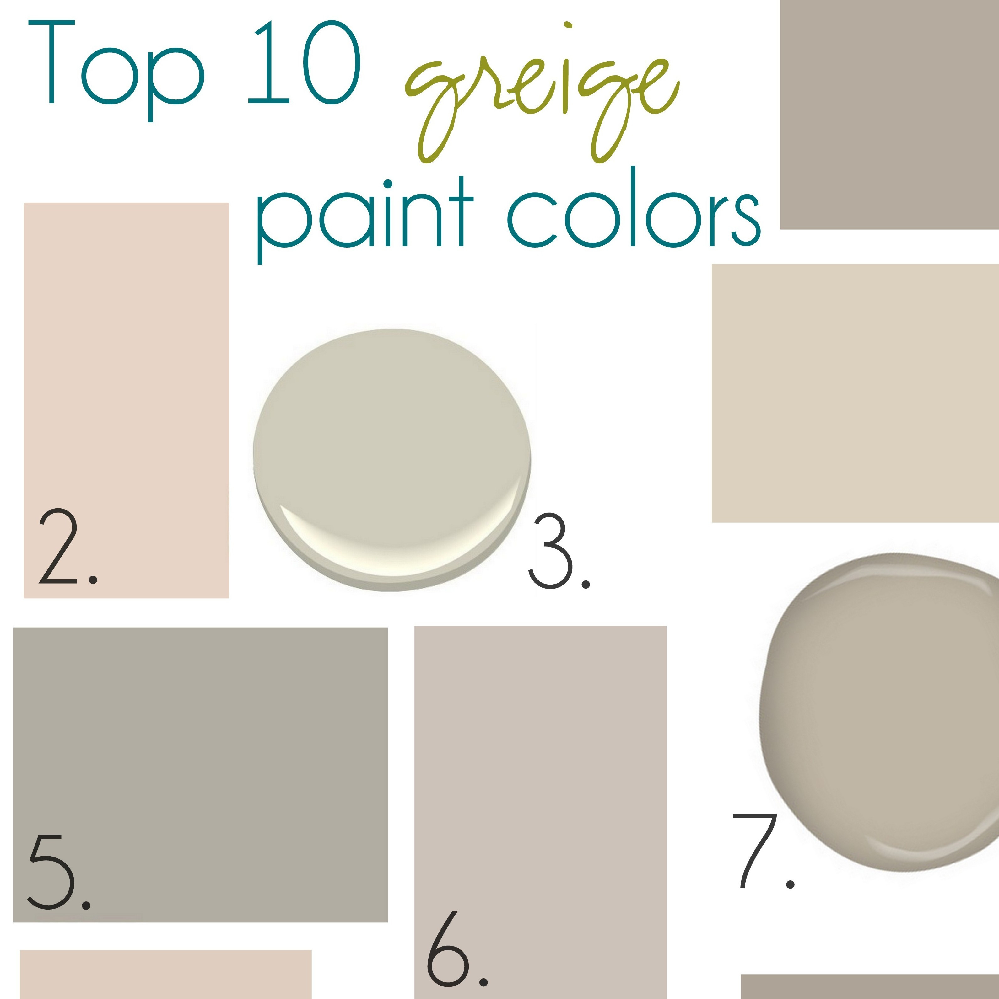 Best ideas about Greige Paint Colors . Save or Pin Gone with the Beige Hello Greige Jenna Burger Now.