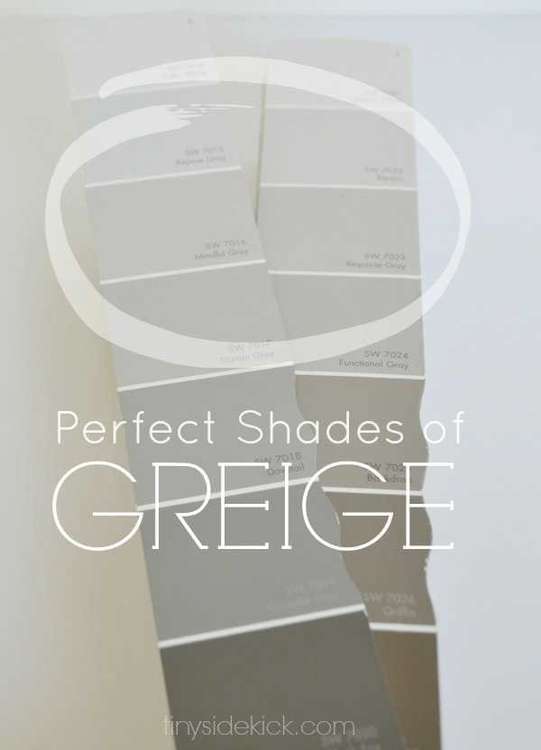 Best ideas about Greige Paint Colors . Save or Pin How to Choose the Perfect Greige Paint Now.