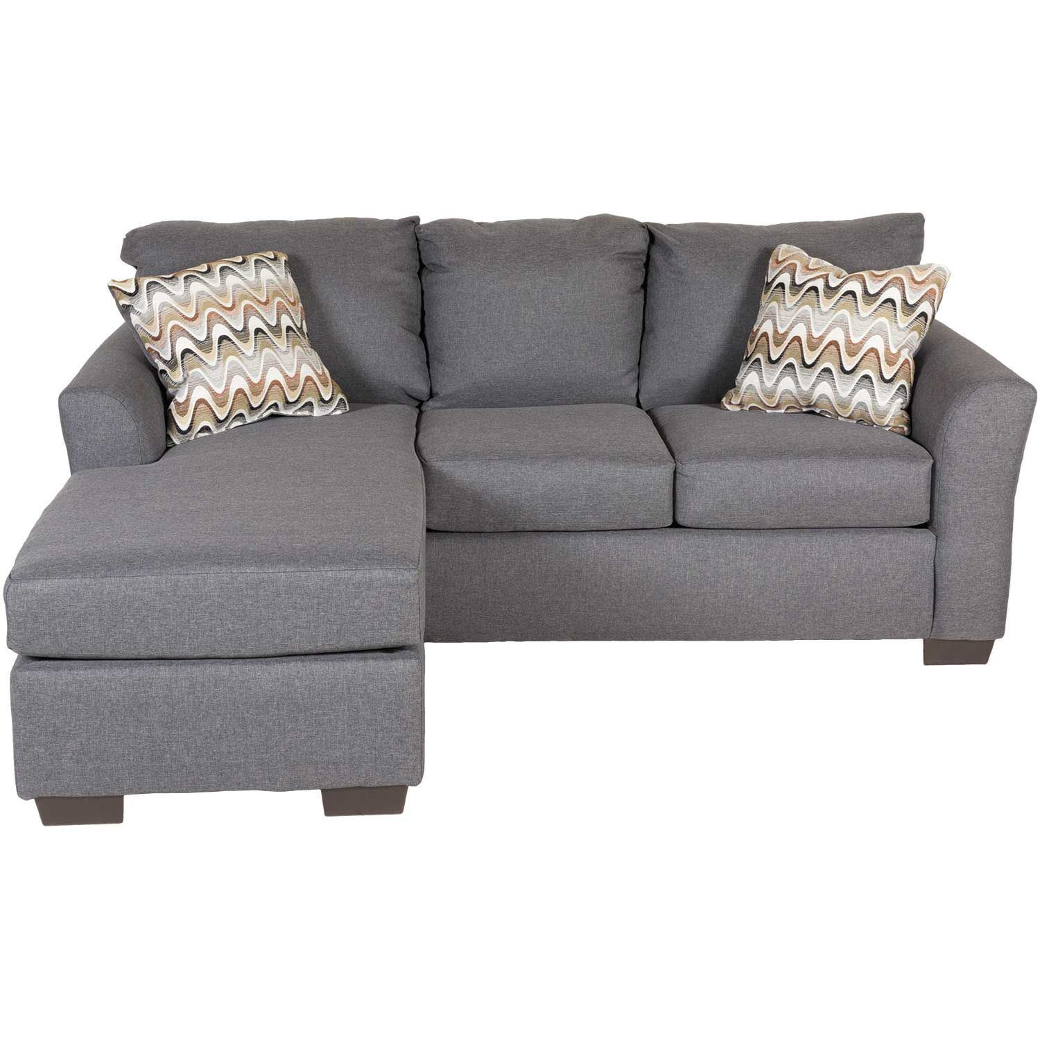 Best ideas about Grey Sectional Sofa With Chaise . Save or Pin Ryleigh Grey Sofa with Chaise D1 3903S Now.