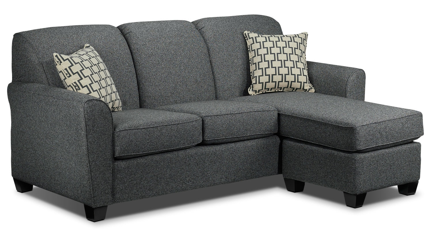 Best ideas about Grey Sectional Sofa With Chaise . Save or Pin Ashby Chaise Sofa Grey Now.