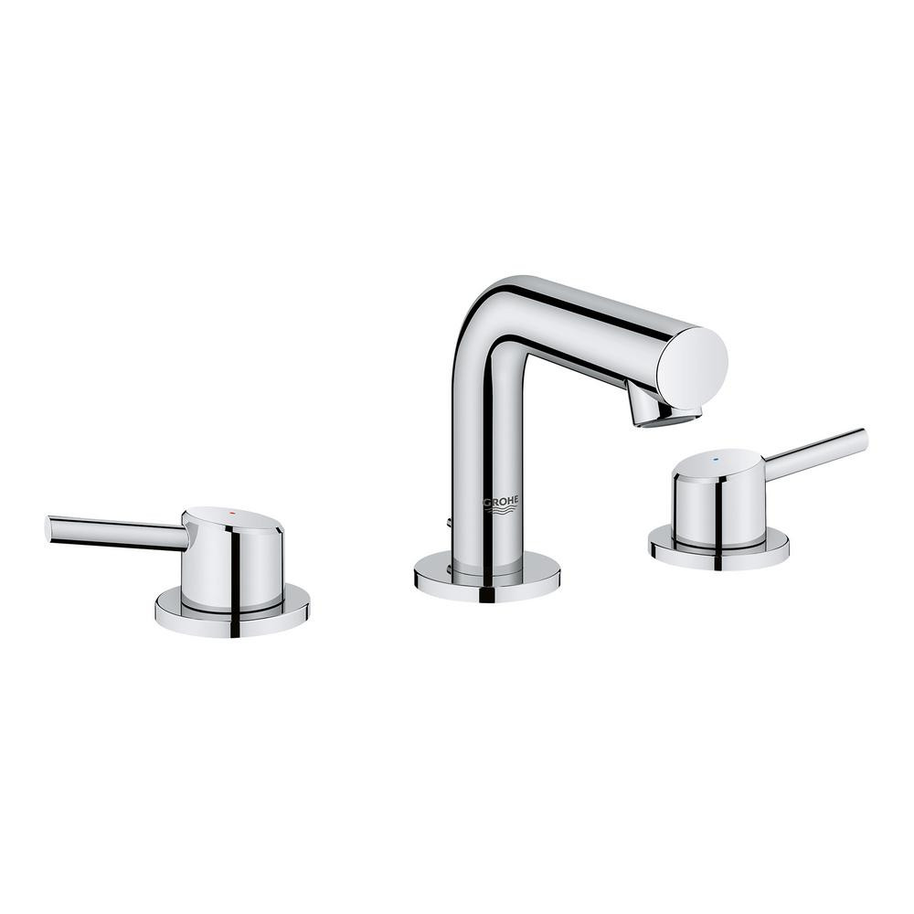 Best ideas about Grohe Bathroom Faucets . Save or Pin GROHE Concetto 8 in Widespread 2 Handle Mid Arc Bathroom Now.