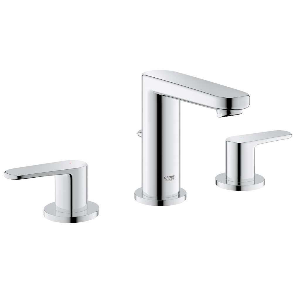 Best ideas about Grohe Bathroom Faucets . Save or Pin GROHE Europlus 8 in Widespread 2 Handle Low Arc Bathroom Now.