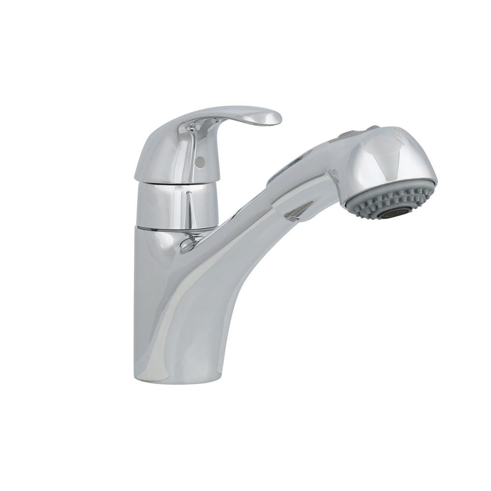 Best ideas about Grohe Bathroom Faucets . Save or Pin GROHE Alira Single Handle Pull Out Sprayer Kitchen Faucet Now.