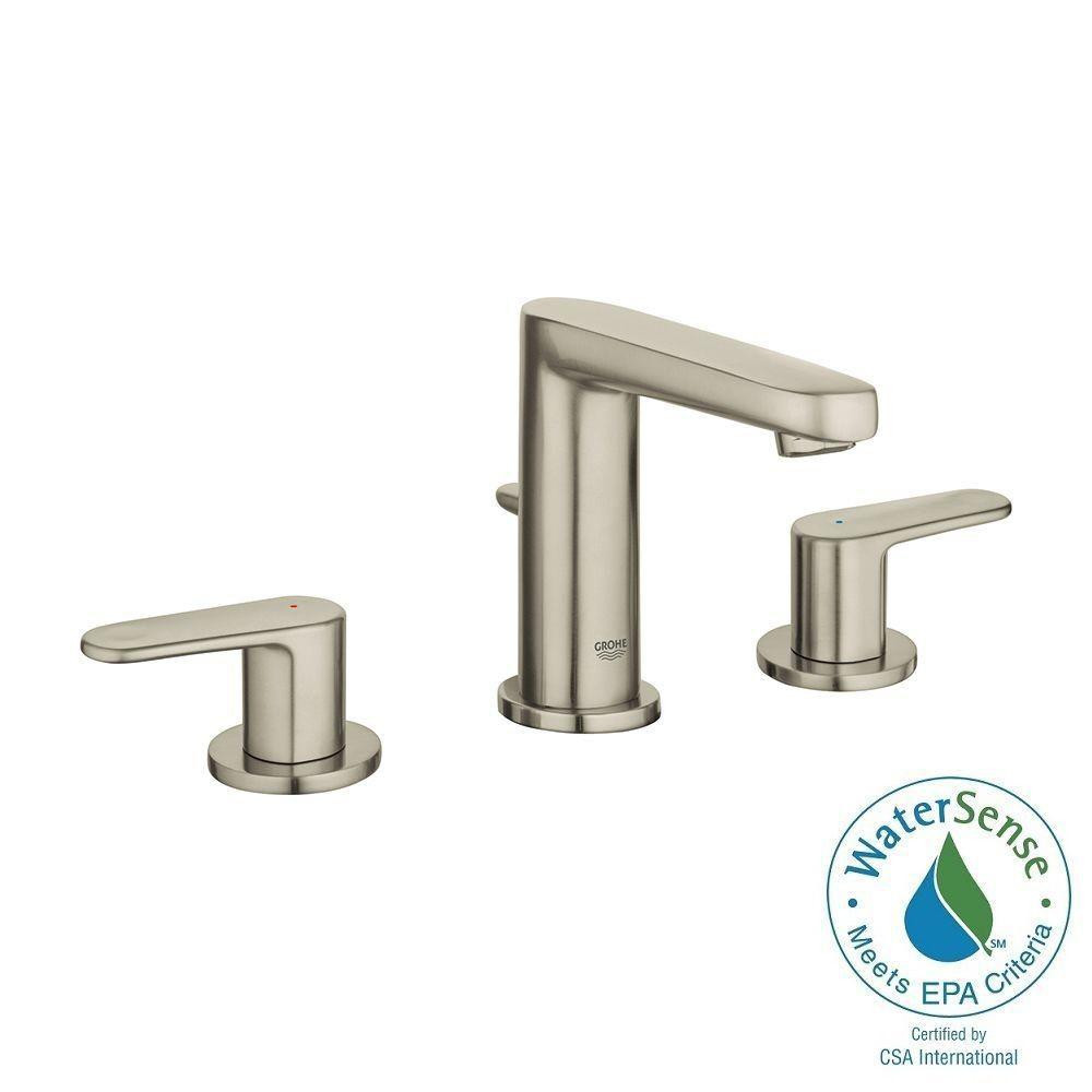 Best ideas about Grohe Bathroom Faucets . Save or Pin GROHE Europlus 8 in Widespread 2 Handle Bathroom Faucet Now.