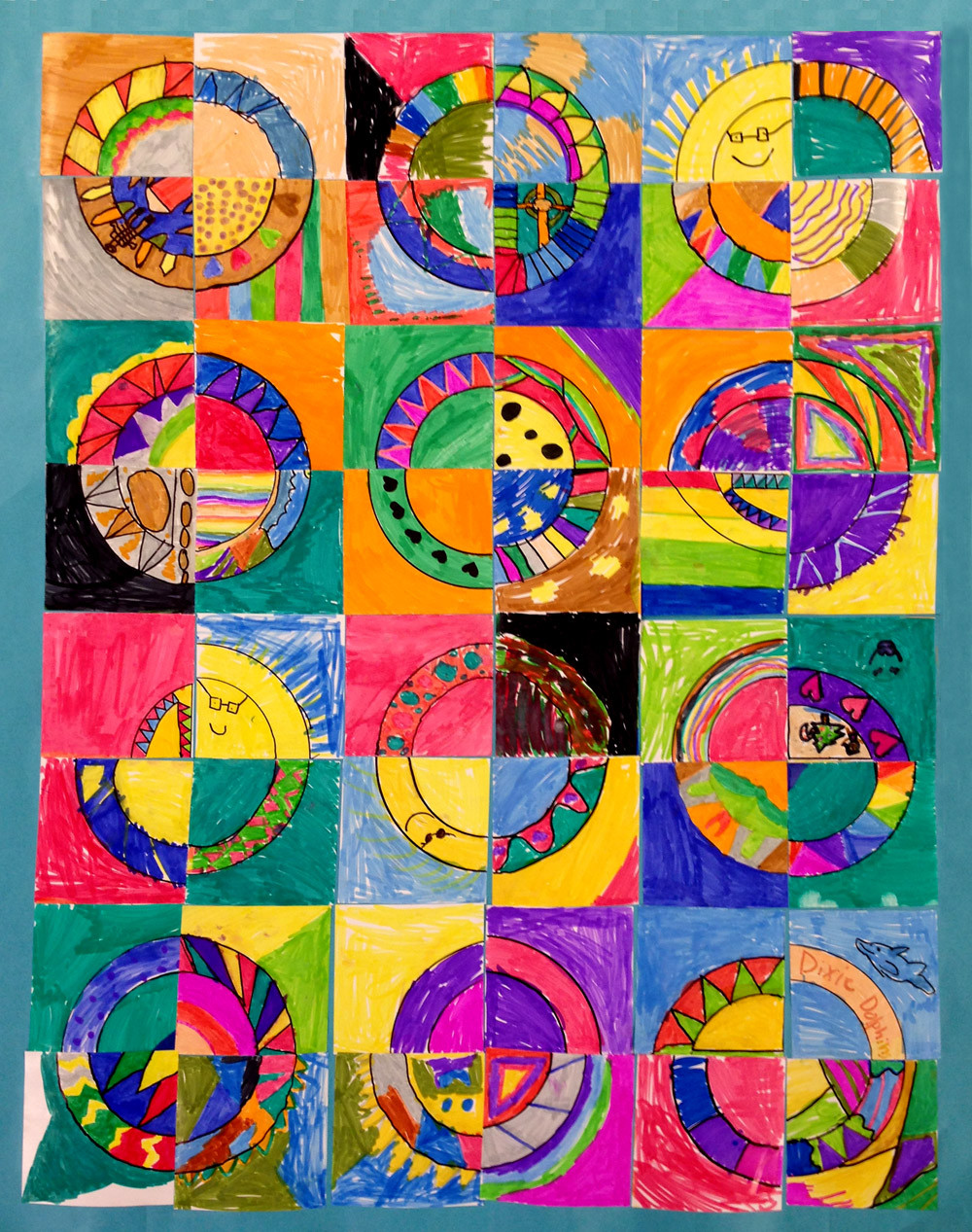 Best ideas about Group Art Project For Kids . Save or Pin Paper Quilts Art Projects for Kids Now.