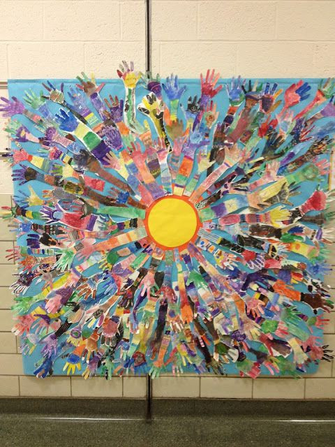 Best ideas about Group Art Project For Kids . Save or Pin Pin by Gemma s Gems on GROUP ART IDEAS Now.