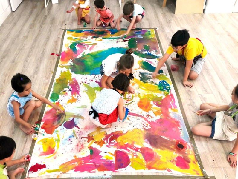 "Best ideas about Group Art Project For Kids . Save or Pin Dạy con những việc này trẻ sẽ ""vào nếp"" n buổi học đầu Now."