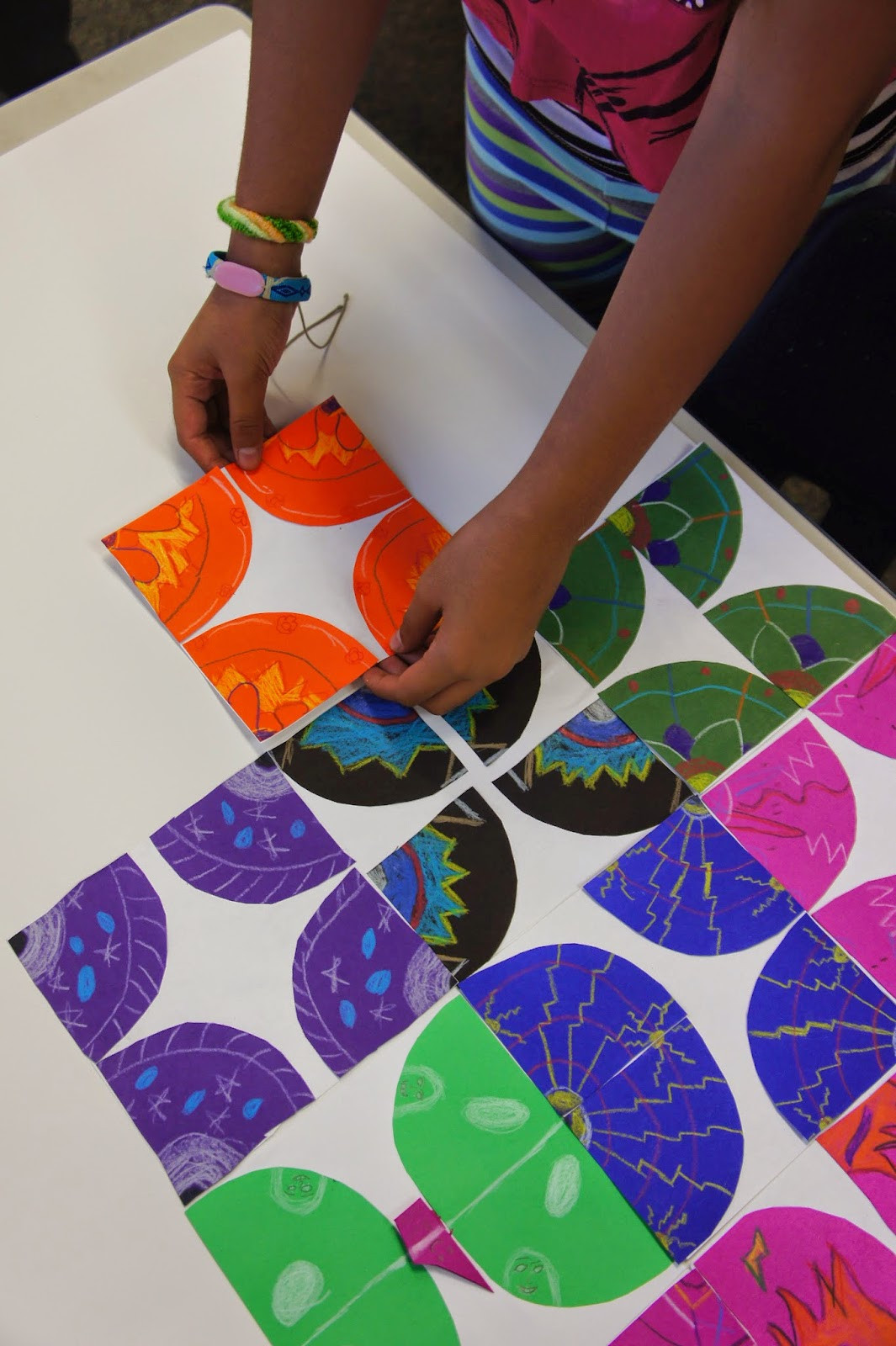 Best ideas about Group Art Project For Kids . Save or Pin shine brite zamorano we ll keep on biggering and biggering Now.